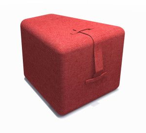 Designed to compliment the seed table or as a individual ottoman.Made of high density solid foam allowing for ease of movement, it is a perfect variation to the standard cube.