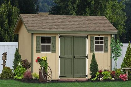 Buy Wooden Storage Sheds in Maryland direct from Lancaster, PA ...