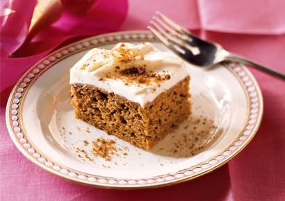 Pumpkin Cake with Cream Cheese Frosting, Low-Carb Dessert Recipes - maybe swap the flour for coconut or almond flour??