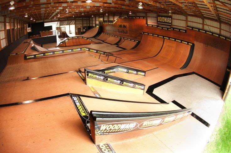 The School Woodward, PA Woodward skatepark, Skate park