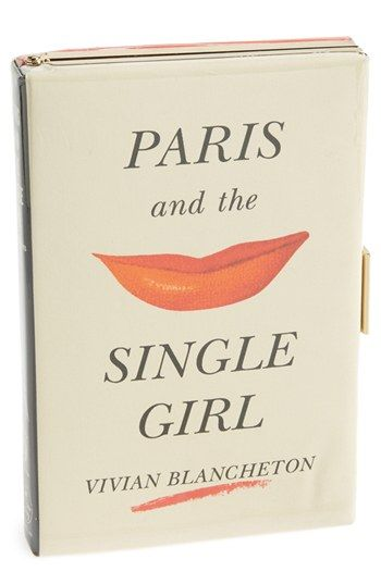 kate spade 'paris and the single girl - book emanuelle' box clutch http://rstyle.me/n/fj8kynyg6