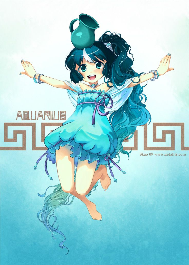 #manga #anime #NDK '09 - Aquarius by zetallis.deviantart.com on @deviantART
