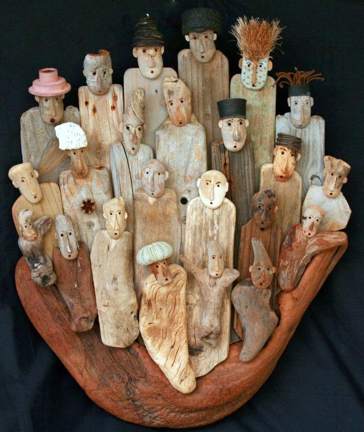 Les 25 meilleures id es de la cat gorie sculpture en bois for Atelier bois flotte