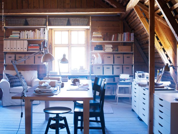 183 best attic office space images on pinterest workshop home and attic spaces