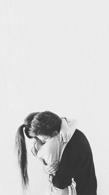 I felt so safe warped up in his arms, but I let him go and I don't think I'll ever get him backb