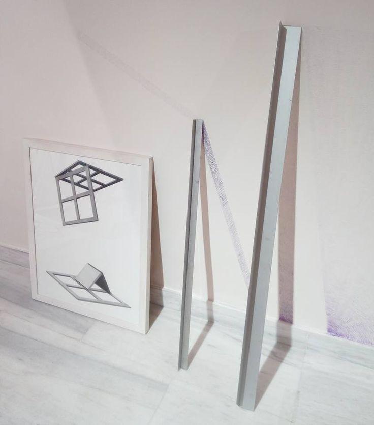 """@ChicoLopezJM #ArtInProgress """"Chico López concluye el contenido de esta exposición con: I'm what you want, frase que dibuja en una de sus obras y en la que, de forma irónica, intenta anticiparse a la opinión del espectador. Según el artista, el arte sólo existe mientras se desarrolla el proceso creativo, lo que sucede después, -subraya-, son meras especulaciones de lo que ha ocurrido""""."""