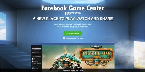 Facebook Game Center - Facebook Gameroom | Tecteem | Epic in