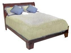Canadian Woodcraft  - Riverside Sleigh Bed with low footboard, $899.00 (http://www.canadianwoodcraft.ca/bedroom/riverside-sleigh-bed-with-low-footboard/)