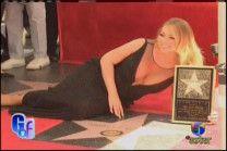 Mariah Carey Recibe Su Estrella En El Paseo De La Fama De Hollywood #Video
