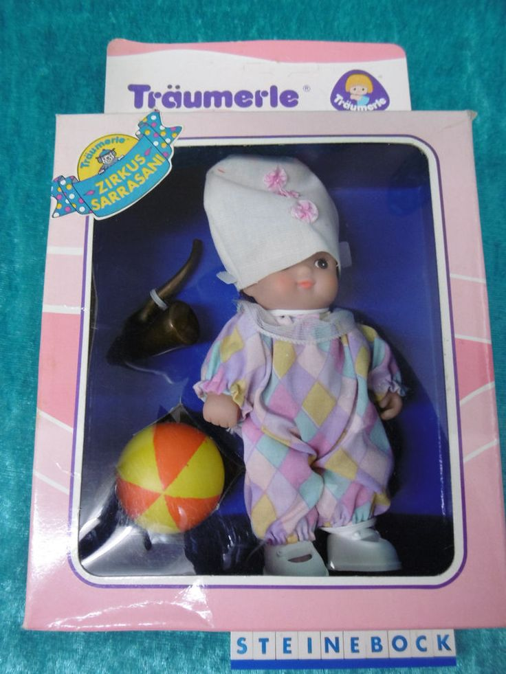 "Träumerle ""Harry"" 13cm Puppe Puppenhaus Made in Germany OVP"