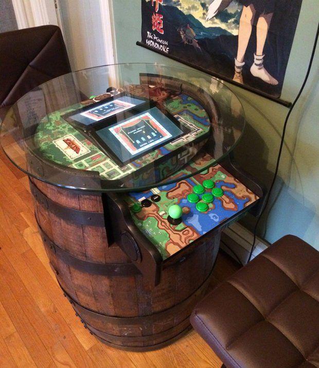 Legend of Zelda Barrel Arcade Machine