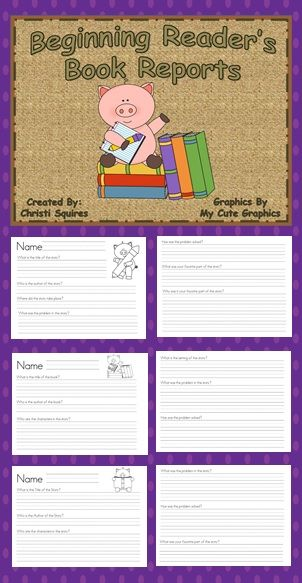 187 best Kindergarten Book Report Ideas for Miss Gail images on - free report templates