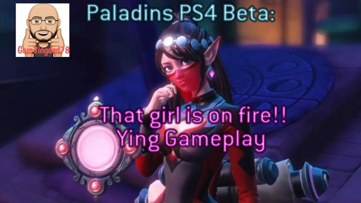 Paladins PS4 Beta: That girl is on fire! (Ying Gameplay)
