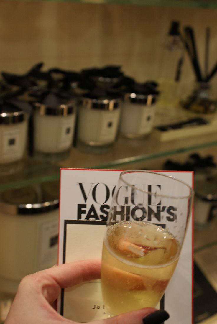 Vogue's Fashion's Night Out.