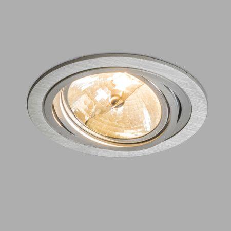 Einbaustrahler Impact Rund Aluminium  Dieser #Einbaustrahler besticht durch sein #modernes #Design und seiner #funktionalität. Verwenden Sie den #Einbaustrahler #Impact zum Beispiel in Ihrem #Wohnzimmer, #Esszimmer, #Schlafzimmer oder in der #Küche. Dank des #verstellbaren #Strahlers können Sie das #Licht dorthin scheinen lassen, wo Sie es benötigen.