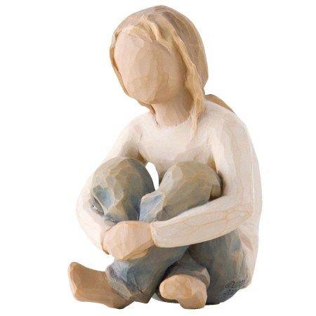 Photo of Willow Tree Spirited Child Figurine
