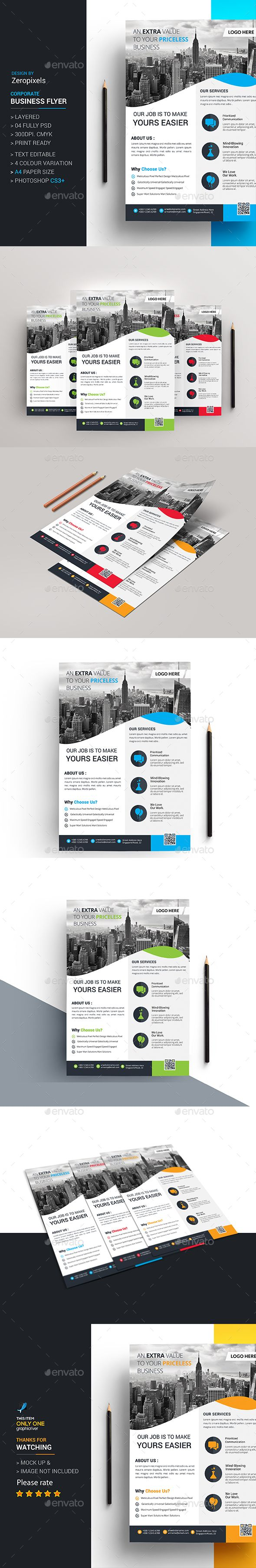 Corporate Business Flyer Template PSD. Download here: http://graphicriver.net/item/corporate-business-flyer/15732468?ref=ksioks