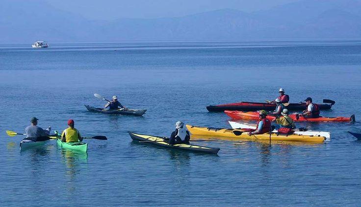 Sea Kayak in Sykia