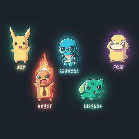 How cute but psyduck would be confusion than fear