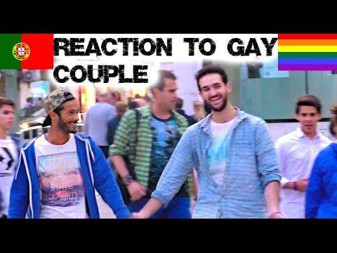 Portugal: Mira la leccion de respeto frente a una pareja gay que camina tomada de la mano por las calles. | Zona Gay Peru