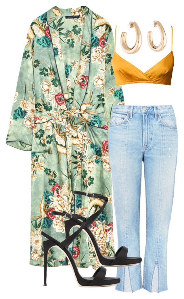 """Untitled #216"" by angheets-closet on Polyvore featuring GRLFRND and Giuseppe Zanotti"