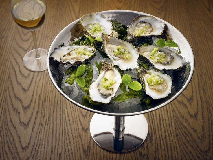 Oysters at Bowery Restaurant