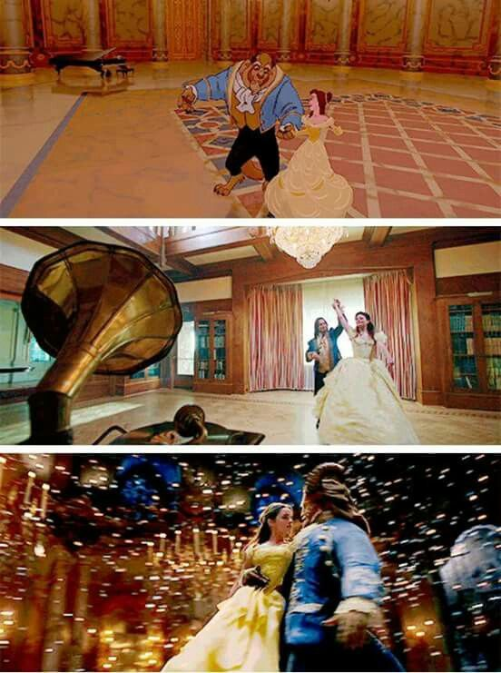 Beauty and the Beast- I love all these versions!