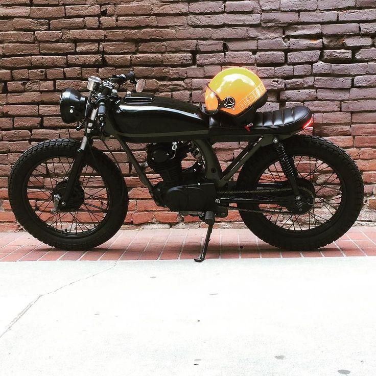 Honda CB125 #caferacer discover #motomood