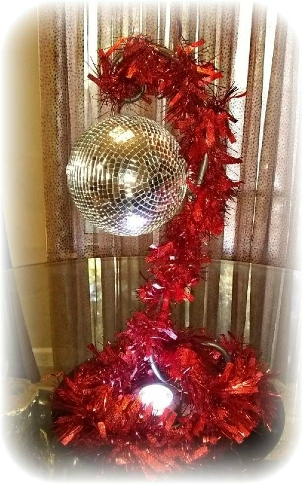 Christmas Disco Ball.I Made The Disco Ball For A 70 S Theme Christmas Party