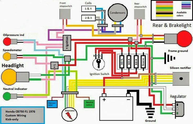 Wiring Diagram Kick Only