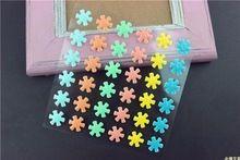 Fiocchi di neve di zucchero praline autoadesiva dello smalto dei puntini resina adesivo per scrapbooking/artigianato fai da te/card making decorazione(China (Mainland))