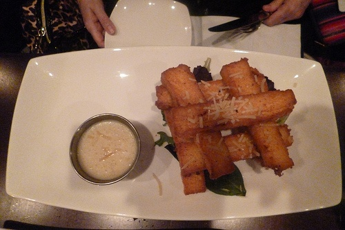 Polenta Fries from Ivy Bar & Grill NYC
