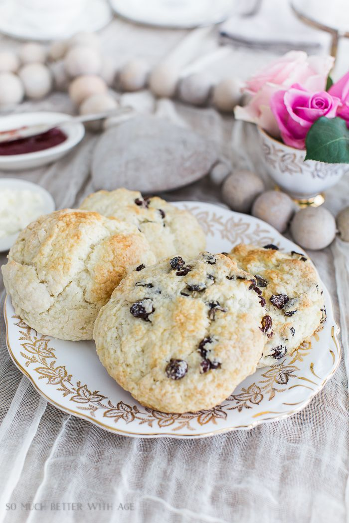 The Best Ever Empress Tea Scones/raison scones - So Much Better With Age