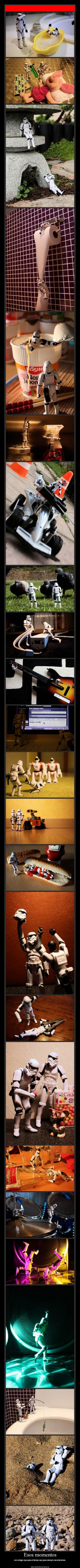Que hacen en su tiempo libre los soldados de asalto del Imprerio #starwars