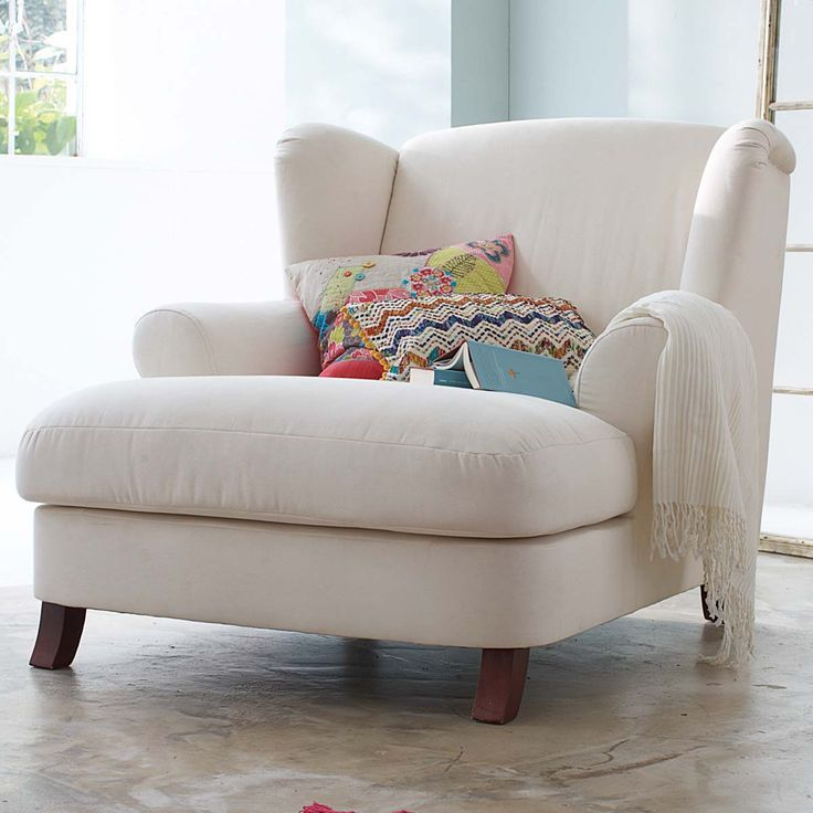 Oversized armchair for snuggling up with a good book! Description from pinterest.com. I searched for this on bing.com/images
