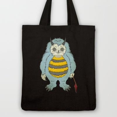 Let's Be Friends Tote Bag by Yanglyn - $18.00: Yanglyn, 18 00, Caught, Tote Bags, All, Eye