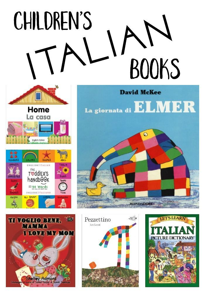Children's Italian Language Books - amazon.com