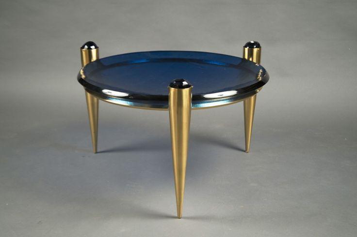 "Roberto Giulio Rida, Coffee Table ""Blu Profondo"", 2016, Bernd Goeckler Antiques"