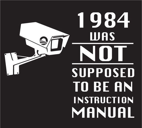 Image result for George Orwell 1984 was not an instruction manual