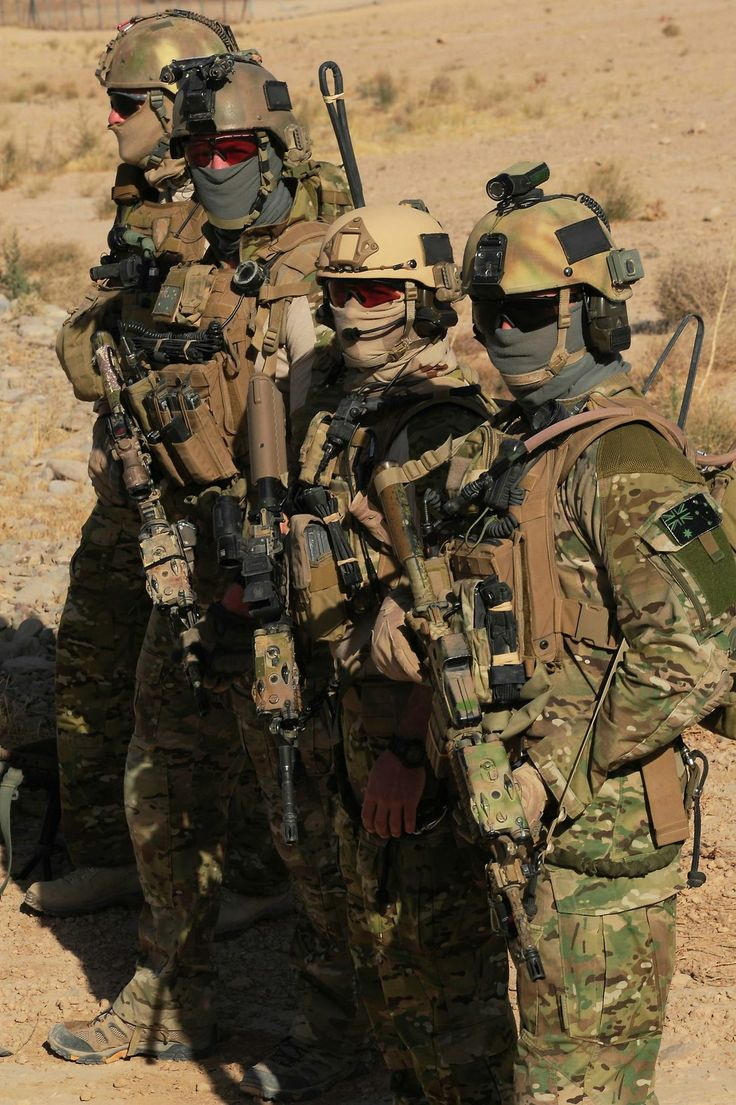 Members with the Australian Special Operation Task Group (SOTG)