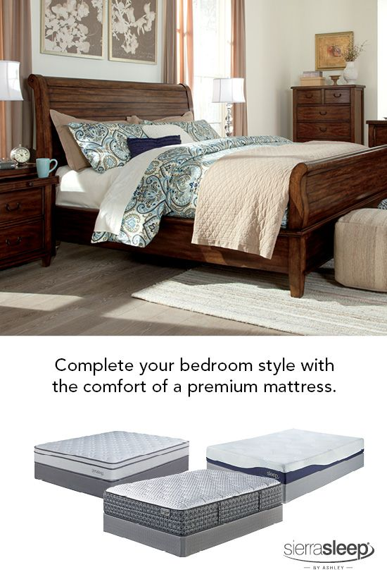Perfect Completing Your Bedroom Style With One Of Our Sierra Sleep® By Ashley  Mattresses Is A Great Way To Get Your Best Rest, All While Having Great  Style! Design Ideas