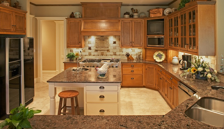 1000 Images About Kitchens On Pinterest Kitchen Dining Rooms Mediterranean Kitchen And Cabinets