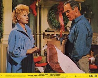 Yours, Mine & Ours-1968  Lucille Ball, Henry Fonda