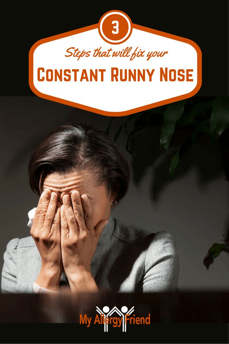 3 Steps that will FIX your Constant Runny Nose/Nose Dripping! http://myallergyfriend.com/constant-runny-nose-dripping-water/?utm_campaign=coschedule&utm_source=pinterest&utm_medium=My%20Allergy%20Friend&utm_content=3%20Steps%20that%20will%20FIX%20your%20Constant%20Runny%20Nose%2FNose%20Dripping%21