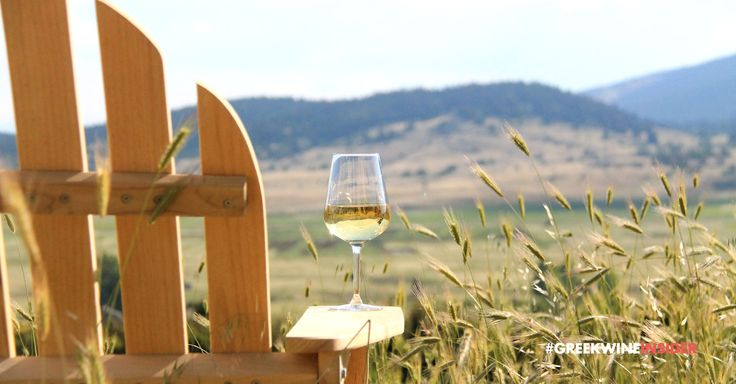 Mountainous Scenery, Enjoying Wine!