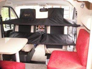Now two children can sleep in the cab of your campervan!