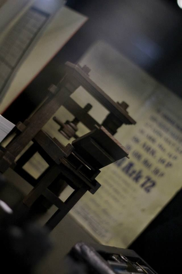 Minyatür Matbaa Makinası