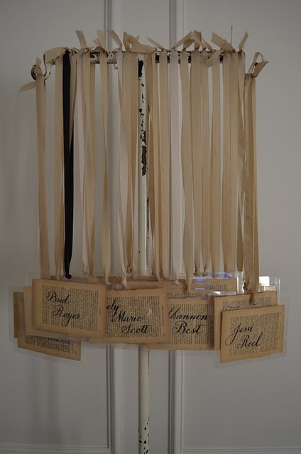 love these name tags! (by Tattered Style)