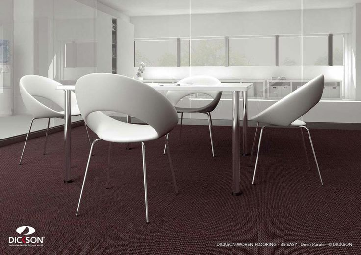 The floors of the future are durable.  Dickson® woven flooring - http://www.dickson-constant.com/