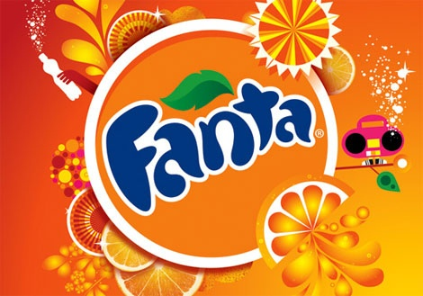 new fanta logo by mashroms, via Flickr #cocacola #coke #fanta
